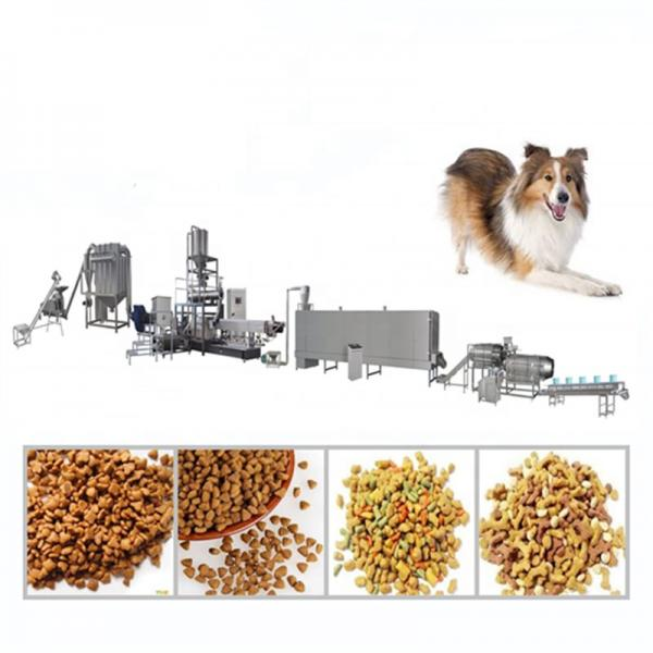 150-1500kg/Hr Dry Dog Food Pellet Production Line Pet Food Machine Extruder Fish Feed Mill Plant Manufacturing Unit Machinery Set Device