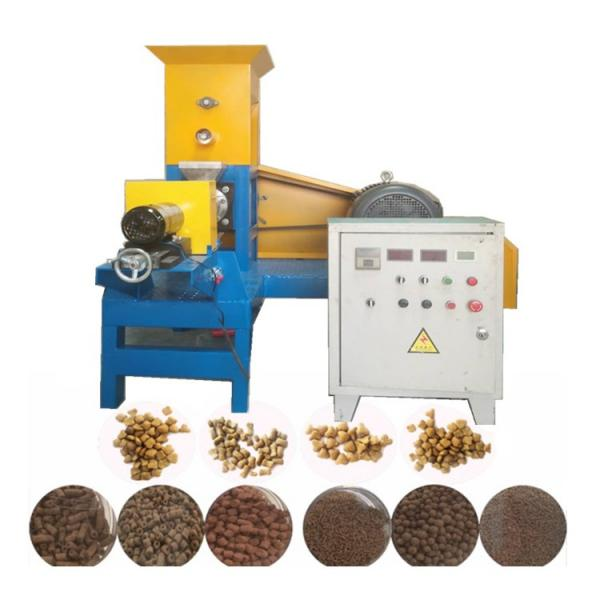 Fully Automatic Single Screw Dry Pet Dog Food Snack Pellet Equipment