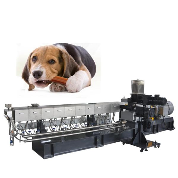 new technology pet food extruder/floating fish feed machine/dog food processing line